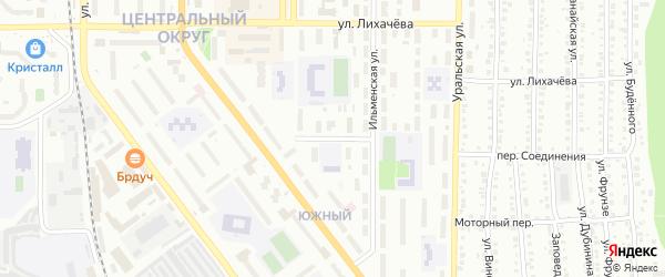 Улица Макаренко на карте Миасса с номерами домов
