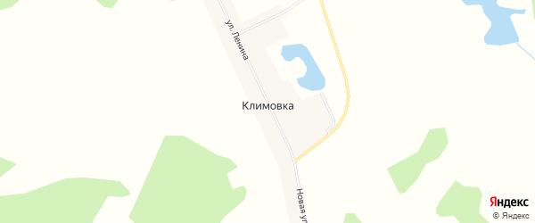 Карта поселка Климовки в Челябинской области с улицами и номерами домов