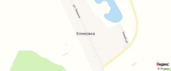 Улица Ленина на карте поселка Климовки с номерами домов