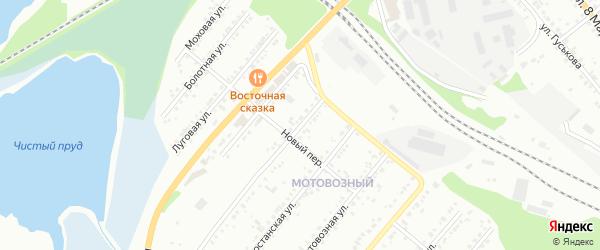 Пензенская улица на карте Миасса с номерами домов