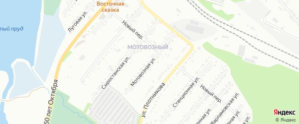 Мотовозная улица на карте Миасса с номерами домов