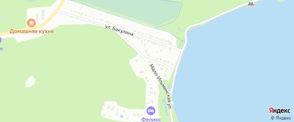 Мало-Ильменская улица на карте Миасса с номерами домов