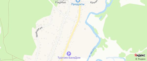 Улица Ленина на карте села Веселовки с номерами домов