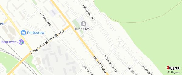 Улица Винокурова на карте Миасса с номерами домов