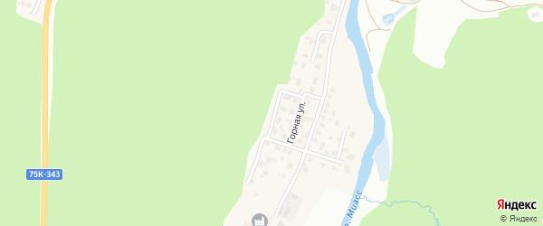 Сосновая улица на карте Златоуста с номерами домов