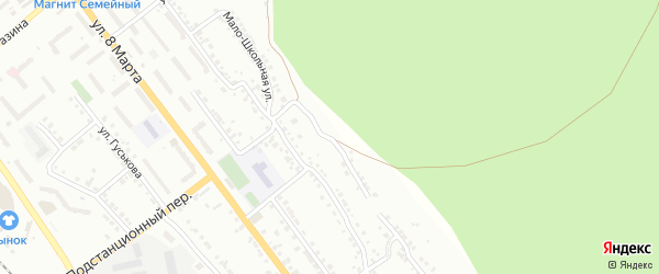 Улица Заповедная (СНТ Северный-2) на карте Миасса с номерами домов