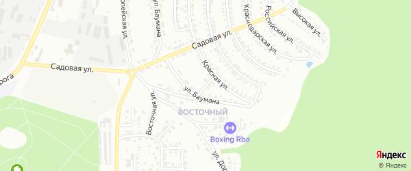Переулок Песчаный (Южная часть) на карте Миасса с номерами домов