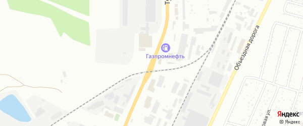 Тургоякское шоссе на карте Миасса с номерами домов