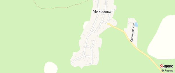 Березовая улица на карте Миасса с номерами домов