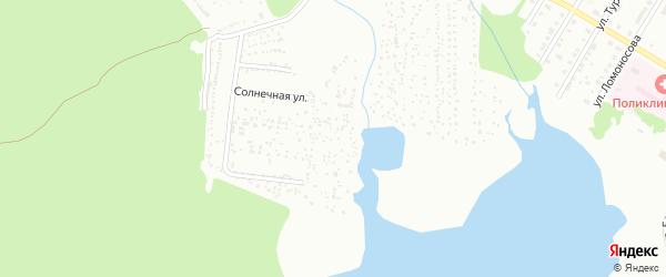 Территория ГСК Строитель на карте Верхнего Уфалея с номерами домов