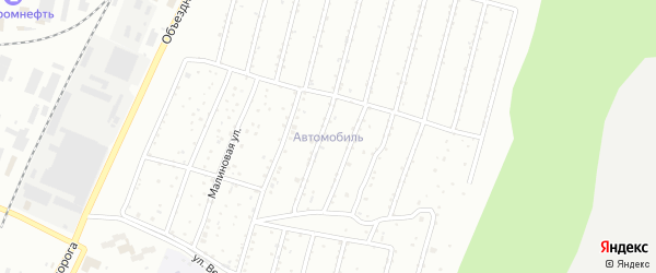 Территория ГСК Автомобиль 3 ГПК на карте Миасса с номерами домов