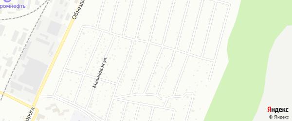 Сад СНТ Автомобиль на карте Миасса с номерами домов