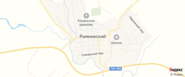 Карта Рымникского поселка в Челябинской области с улицами и номерами домов