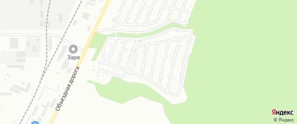 Сад СНТ Ильмены Южные на карте Миасса с номерами домов
