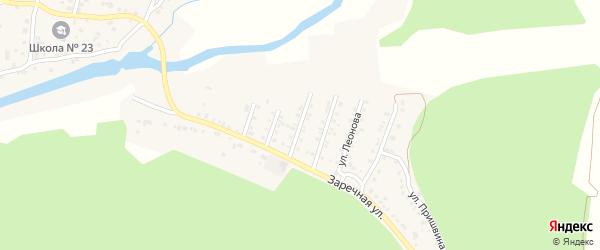 Высоковольтная улица на карте поселка Северные Печи с номерами домов
