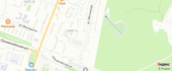 Улица Мечникова на карте Миасса с номерами домов