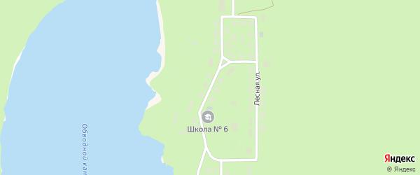 Первомайская улица на карте 1 Военного городка с номерами домов