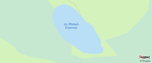 Поселок Кордон Еланчик на карте Миасса с номерами домов