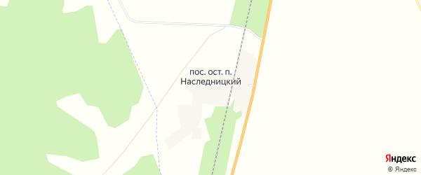 Карта Наследницкого поселка в Челябинской области с улицами и номерами домов