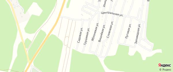 Улица Грушевая (СНТ Северный-2) на карте Миасса с номерами домов