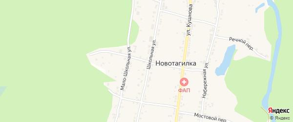 Земляничная улица на карте Миасса с номерами домов
