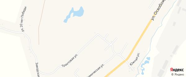 Трактовая улица на карте Карабаша с номерами домов