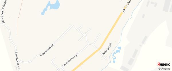 Гранитная улица на карте Карабаша с номерами домов