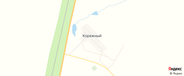 Карта Коряжного поселка в Челябинской области с улицами и номерами домов