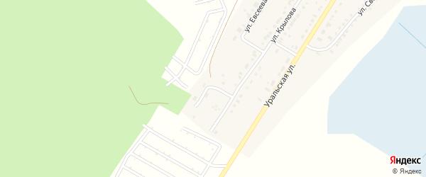 Радужная улица на карте Верхнего Уфалея с номерами домов