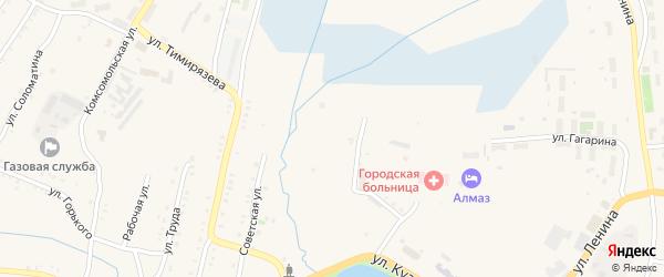 Улица Васенко на карте Карабаша с номерами домов