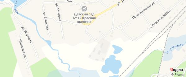 Рудничная улица на карте Карабаша с номерами домов
