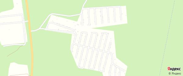 СНТ Брусничный сад на карте Миасса с номерами домов