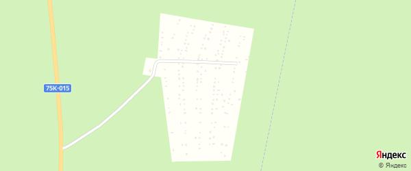 СНТ Земляничный сад на карте Миасса с номерами домов