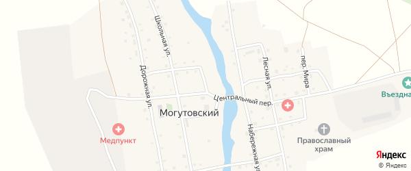 Речная улица на карте Могутовского поселка с номерами домов