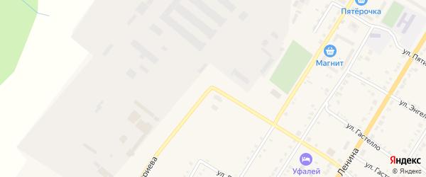 Улица Дмитриева на карте Верхнего Уфалея с номерами домов