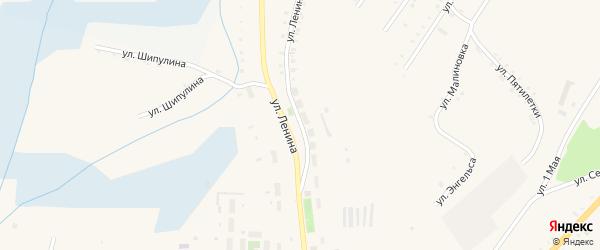 Улица Ленина на карте Карабаша с номерами домов