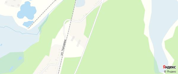 Военный 18-й городок на карте Челябинска с номерами домов