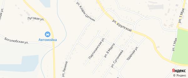 Улица Красный Урал на карте Карабаша с номерами домов