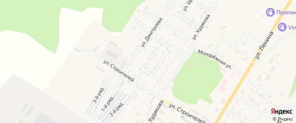 Переулок Революции на карте Верхнего Уфалея с номерами домов