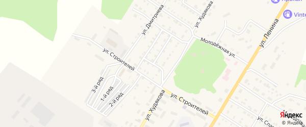 Улица Олега Кошевого на карте Верхнего Уфалея с номерами домов