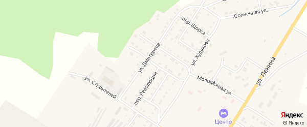 Улица Революции на карте Верхнего Уфалея с номерами домов