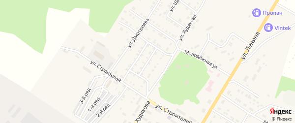 Улица Тимирязева на карте Верхнего Уфалея с номерами домов