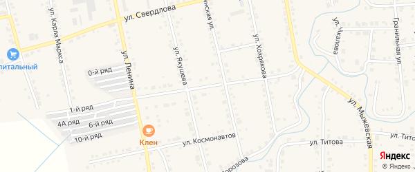 Улица Качалова на карте Верхнего Уфалея с номерами домов