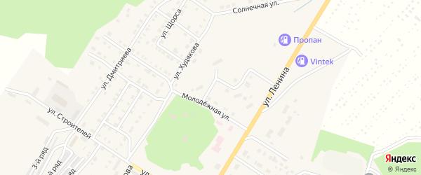 Улица Автомобилистов на карте Верхнего Уфалея с номерами домов