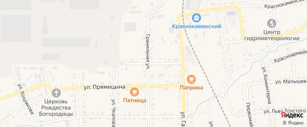 Улица Ломоносова на карте Верхнего Уфалея с номерами домов