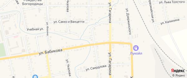Гранильная улица на карте Верхнего Уфалея с номерами домов