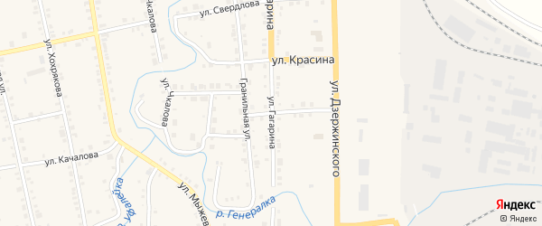 Улица Шмидта на карте Верхнего Уфалея с номерами домов