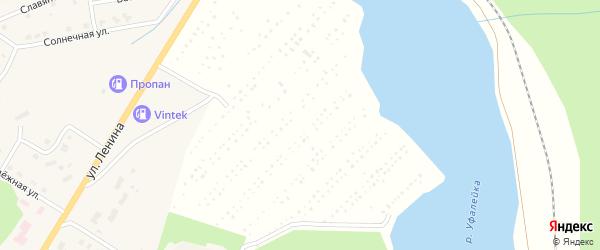 Сад Металлист 1 на карте Челябинска с номерами домов