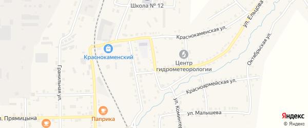 Улица Карла Либкнехта на карте Верхнего Уфалея с номерами домов