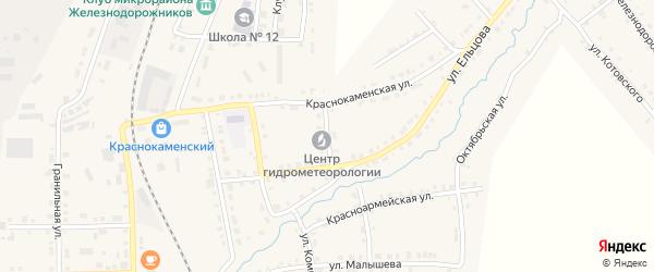 Крестьянская улица на карте Верхнего Уфалея с номерами домов